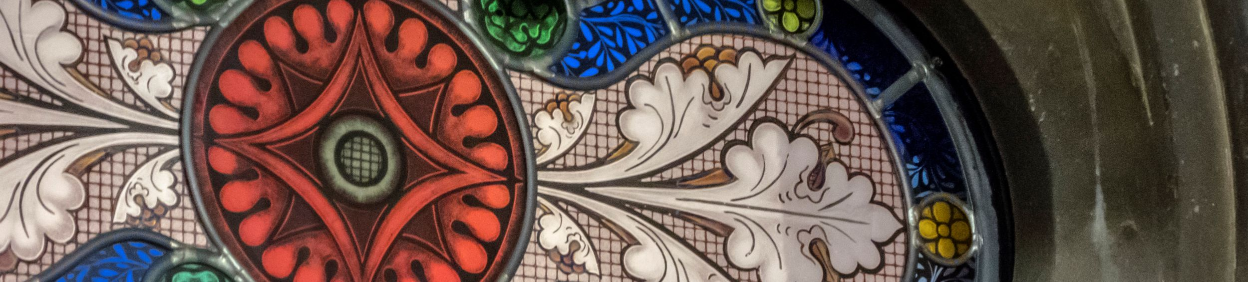 Fraction of a Stain Glass Window